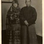 Ching-ling with her husband in 1924 - the year before he died.