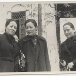 In Chongqing in 1940 the three sisters showed a united front and appeared in public together for the first time in more than ten years. Big Sister (left) and Little Sister (centre) were very close, whereas Red Sister (right) stayed slightly apart from them.
