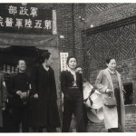 The sisters visiting a military hospital in Chongqing, 1940.