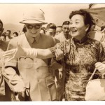 Chiang meeting May-ling at Taipei airport in 1959, when she flew back from New York. They were ecstatic, as America had become more committed to defending Taiwan as a result of Mao's recent sabre-rattling.