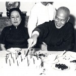 In Taiwan in 1956, Big Sister, Ei-ling, was Chiang's guest of honour at his birthday dinner