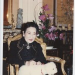 May-ling aged around 100, in her Manhattan apartment. She died in 2003, aged 105.