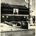 Chiang's portrait on Tiananmen Gate, Beijing, after China's victory against Japan, 1945–6.