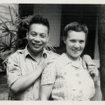 Ching-kuo and his wife Faina Vakhreva, a former Russian technician, whom he had met in Russia when he was kept there as a hostage by Stalin.