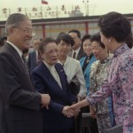 May-ling left Taiwan for good in 1991 and disassociated herself from the politics of the island. Seeing her off was President Lee, who in 1996 became the first democratically elected president