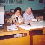 Jung Chang & Jon Halliday in the Albanian archive.