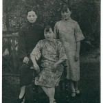 The three sisters (from left: Ching-ling, Ei-ling, May-ling), c. 1927, before Chiang Kai-shek drove the Communists out of the Nationalist party. This is possibly the last picture of the sisters before they publicly espoused antagonistic political camps.