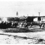 Communist forces attacking Jinzhou, October 1948.
