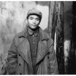 My father, in a photograph which I think catches his mood paritcularly well, during the journey from Manchuria to Sichuan, late 1949.