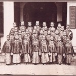As part of Cixi's modernisation programme, in the 1870s groups of young teenagers were sent to America to receive a comprehensive education.