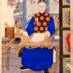 Emperor Guangxu who, upon Tongzhi's death in 1875, was put on the throne by Cixi when we was three.