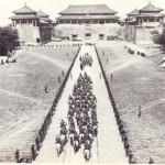 Western powers invaded and Cixi was driven out of Beijing.  The Allied forces entered the Forbidden City.