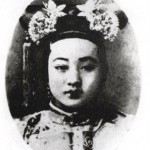 In 1889, Emperor Guangxu took over the running of the empire whereupon Cixi retired.  Guangxu's favourite concubine, Pearl.