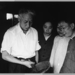 President Liu Shao-ch'i in his home village in Hunan (spring 1961).  With his wife, Wang Guangmei, this trip propelled im to ambush Mao and halt the Leap - and the famine.